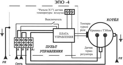 Схема подключения эпо 4